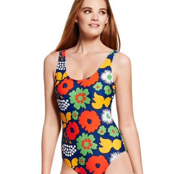 9c36af5d5839f Marimekko x Target One Piece Kukkatori Swimsuit
